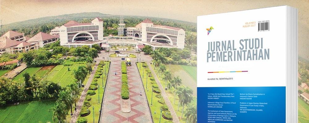 Jurnal Studi Pemerintahan: Journal Government and Politics
