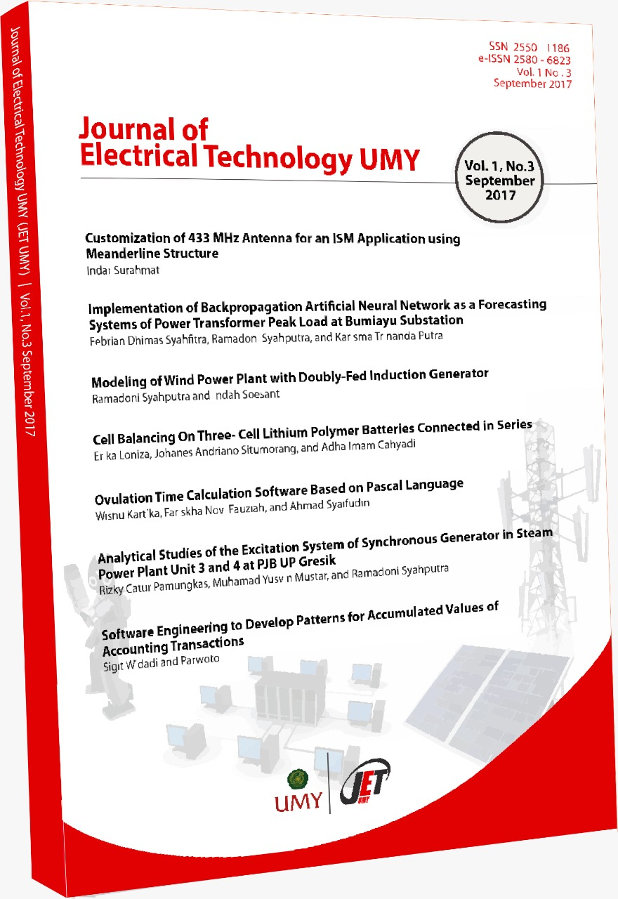 Journal of Electrical Technology UMY